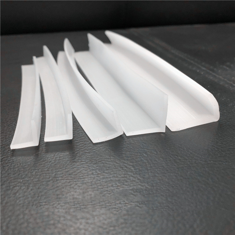 Silicon Rubber Angle Corner Protecor Collision Avoidance Gasket L Solid Silicone Seals Strip Bar White Black Gray