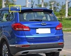 1 sztuk bagażnik dachowy straży kolor srebrny plasitc pokrywa dla chińskich CHERY TIGGO5 SUV części samochodowe