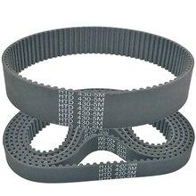 Rubber timing belt htd430-5m htd435-5m width 10/12/15/18/20/25/30/35/40/45/50mm