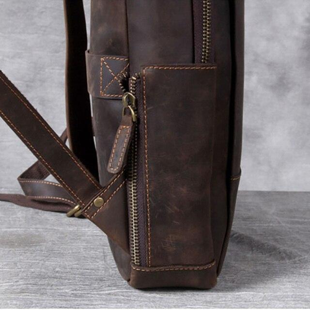 Modern Vintage Leather Backpack 4
