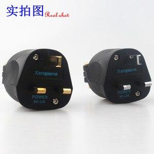 Image 5 - XangSane HI UK Британский стандарт позолоченный/позолоченный guy fever шнур питания штепсельная вилка hifi аудио кабель 13A 250В