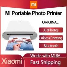 Xiaomi Miajia – Mini-imprimante Photo Portable, pour Smartphone Iphone, wi-fi, Bluetooth, ruban Photo