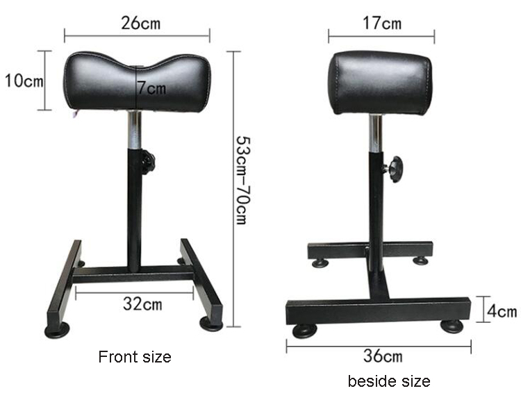 Professional Spa Pedicure Manicure Chair Tool Rotary Lifting Foot Bath Nail Stand Salon Pedicure Chair White Black