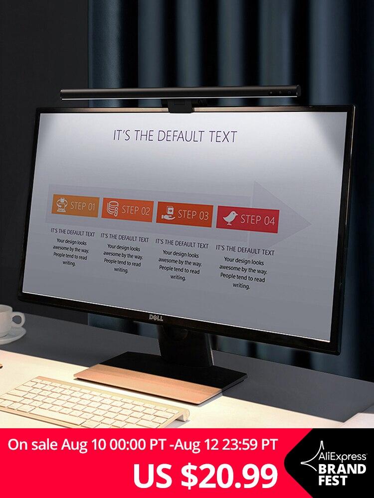 Baseus Desk-Lamp Lcd-Monitor-Lamp Hanging-Light Laptop Screen-Bar Computer Study