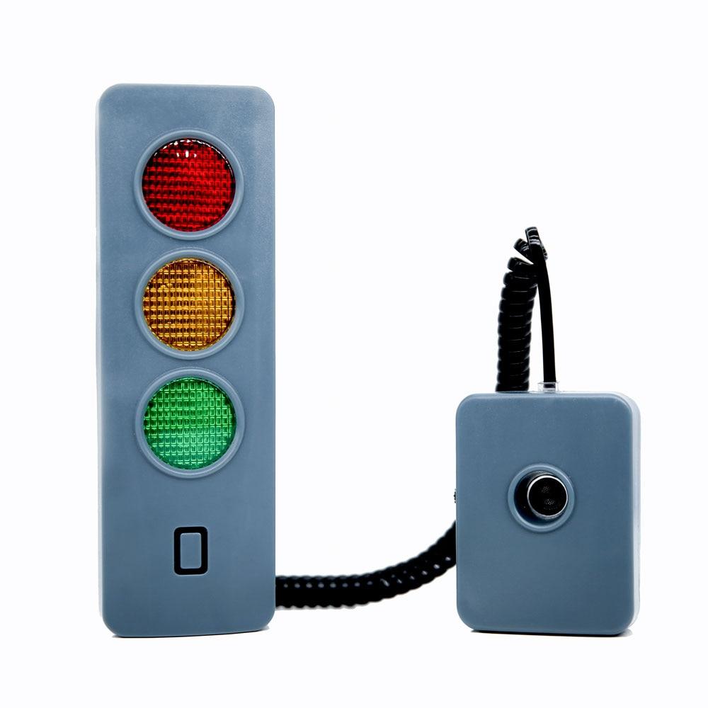 Car Parking Indicator Car Garage Parking Safety Distance Alarm Light Smart Parking LED Traffic Light Assist Locator Accessory
