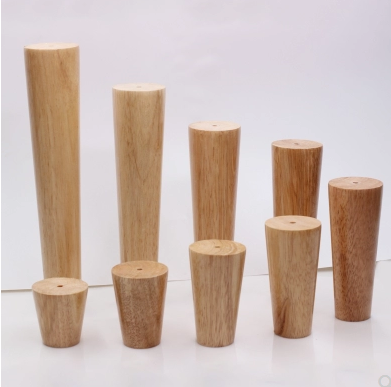 1 Piece Of Solid Wood Height Adjustable Tilt Furniture Feet, Sofa Table Feet, Cabinet Feet