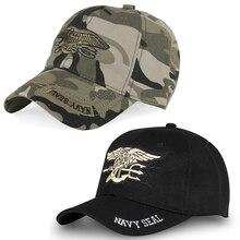 Mens US NAVY Baseball Cap Navy Seals Cap Tactical Casquettes Snapback Army Caps Women Fitted Trucker Gorras Snapback Hat Dad
