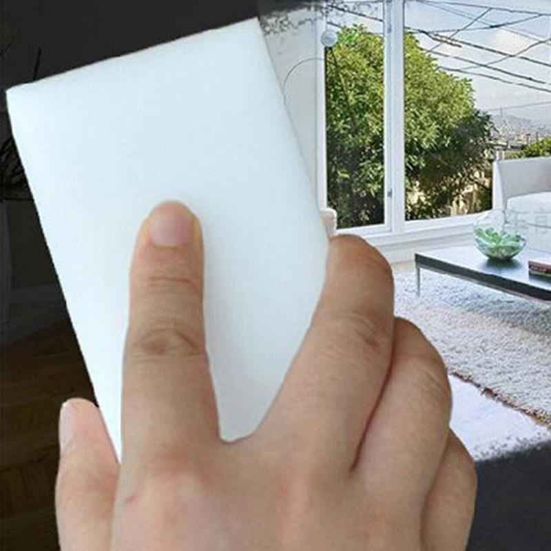 100*60*20mm 20pcs Magic Eraser Kitchen Office Bathroom Clean Accessory/Dish Cleaning Melamine Sponge White
