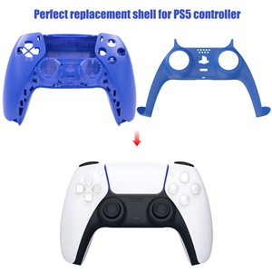 Image 3 - Skin Shell Case Cover Replacement For PS5 Console Game Gaming Controller Gamepad Protective Cover For Sony PS5 Handle Joystick