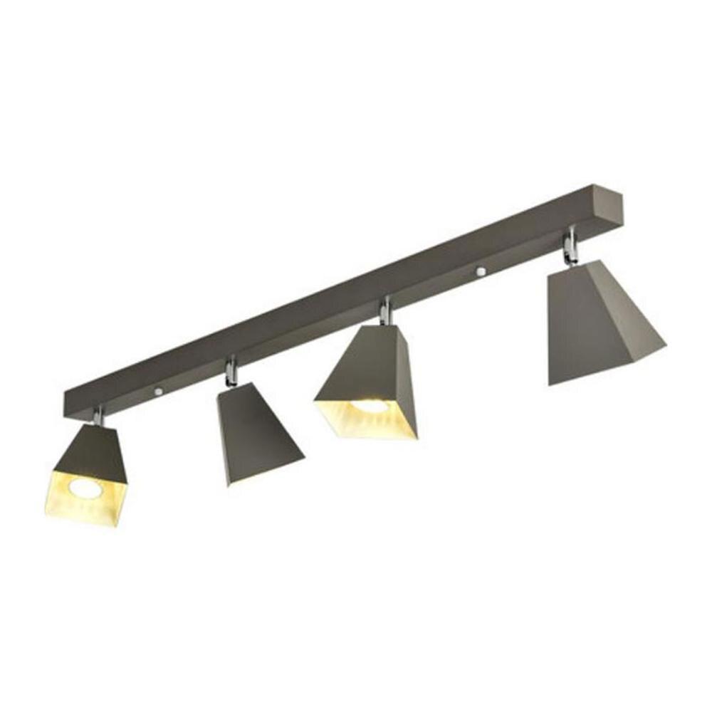 Industrial Black White Grey Green Led Ceiling Lights, 2 3 4 5 light ,LED Bulb Included Ceiling Lamp Art Decor Ceiling Lamp