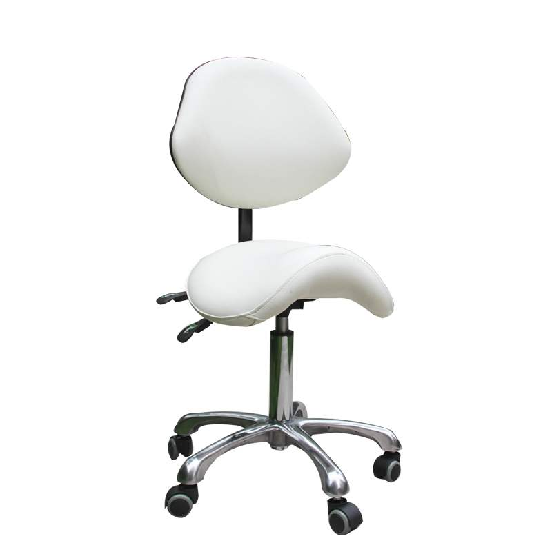 Dentist Seat Saddle Chair Multi-function Lifting Folding Pulley Tattoo Embroidery Beauty  Doctor's  Stool
