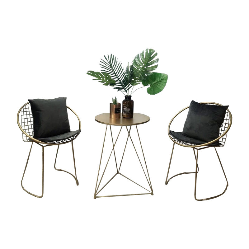 Nordic Table And Chair Combination Single Chair Modern Minimalist Creative Leisure Small Round Table Fashion Ins