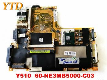 Original for Lenovo Y510 Laptop  motherboard Y510  60-NE3MB5000-C03 tested good free shipping