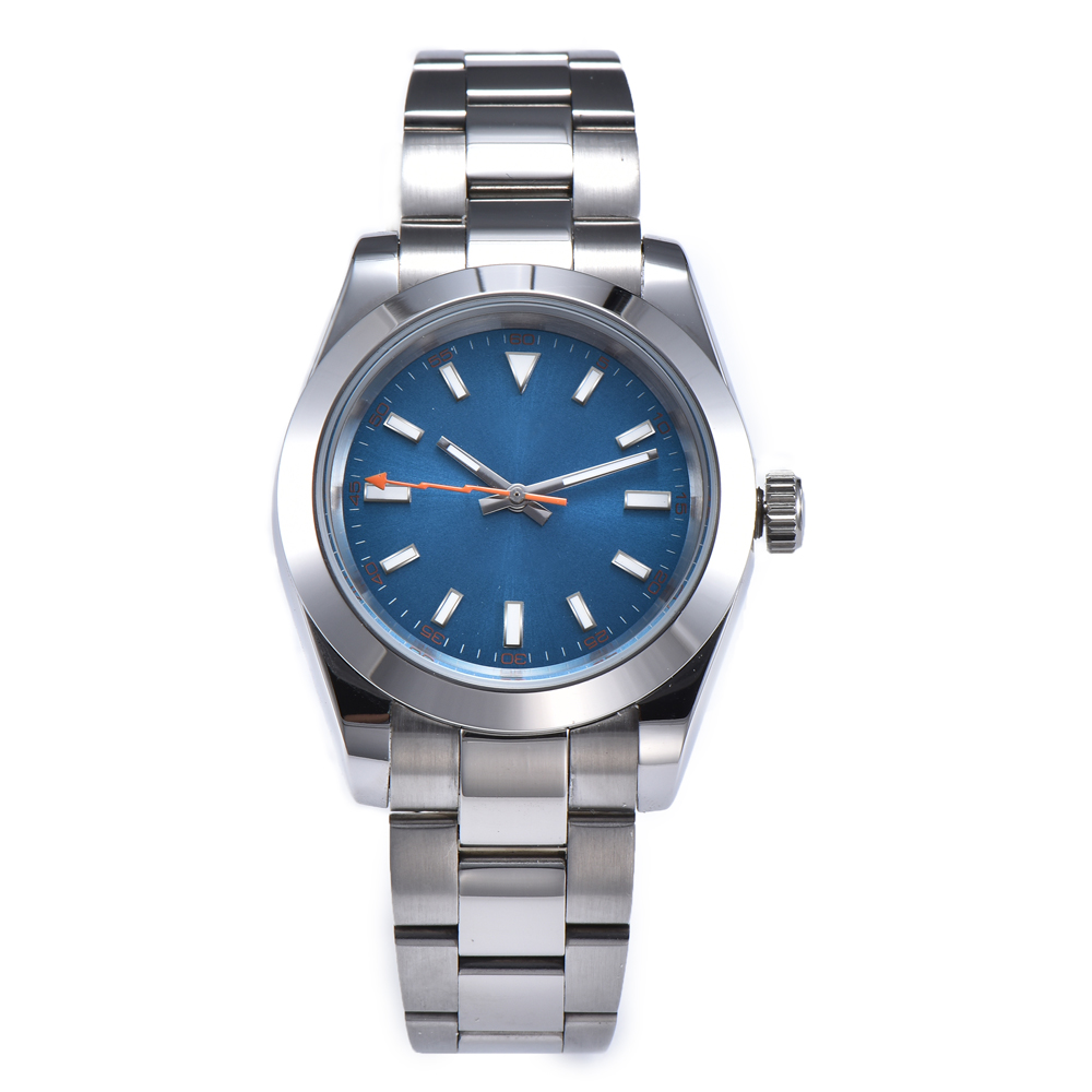 automatic mechanical watch watch men Luminous waterproof 316L Solid stainless steel 40MM LLS93