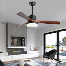 Американский Ретро потолочный вентилятор лампа скандинавский