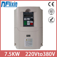 VFD CoolClassic Frequency Inverter Frequency Converter 220V Input and 380v 3 phase output 7.5kw Free Express shipping