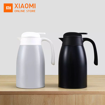 Xiaomi Kettle Keep Warm Tea Pot Thermal Insulation Kettle Stainless Steel Water Bottles Thermal Carafe Water Kettles Jug Flask free shipping new steam make tea glass insulation the boiled tea electric kettle boil black pu erh pot electric kettles good