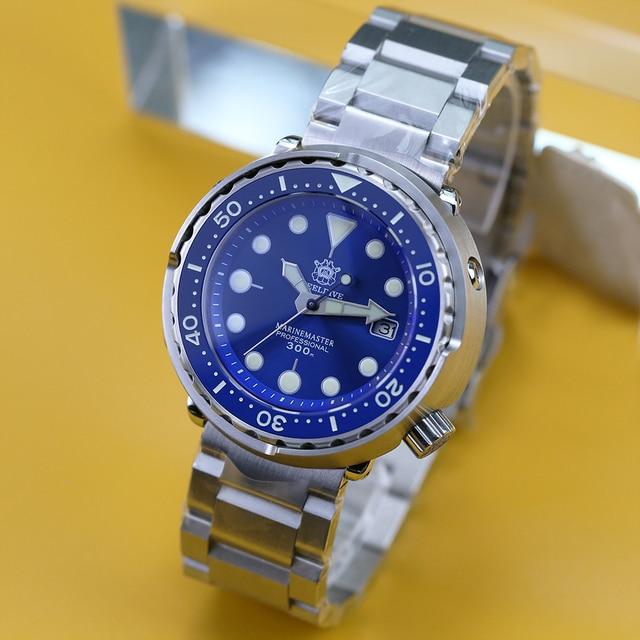 STEELDIVE Mens Mechanical Watch 300m Diver Watch NH35 Movement Sapphire Crystal Luminous Automatic Watch men