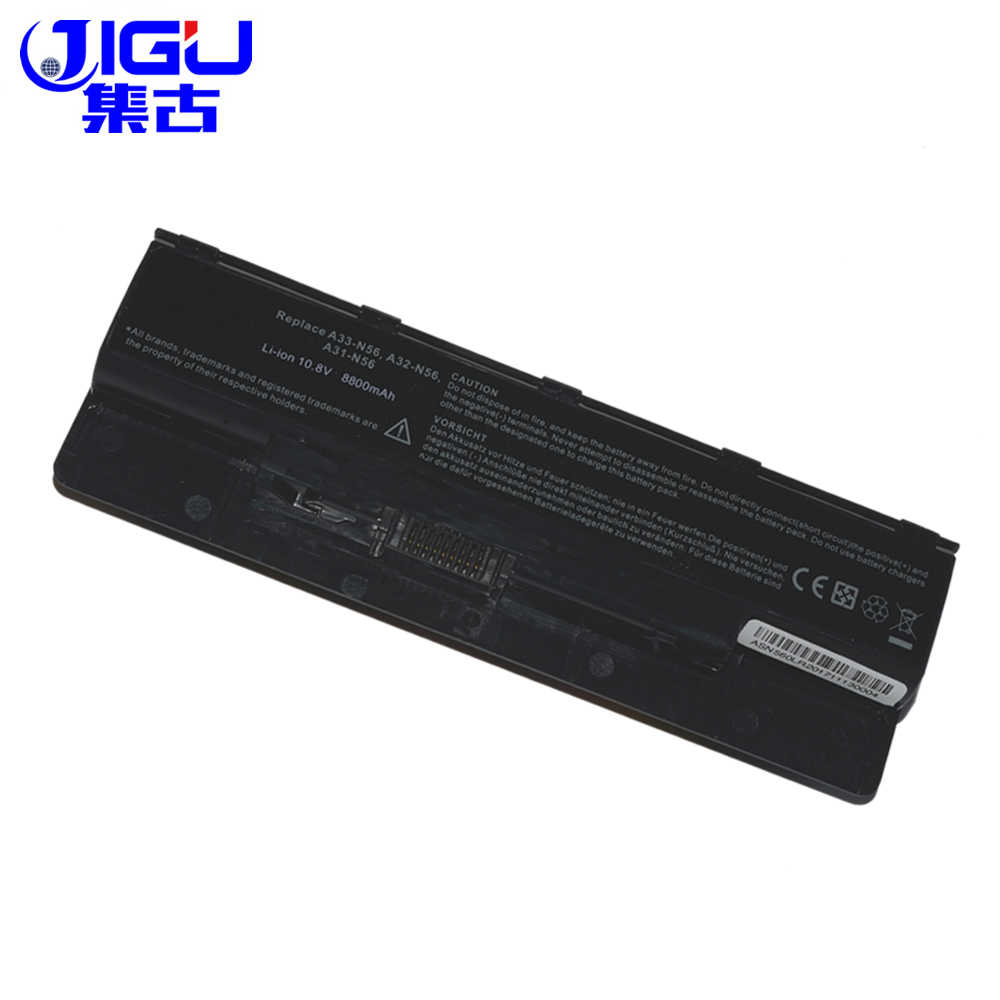 JIGU ноутбука BatteryA31-N56 A32-N56 A32-N46 A33-N56 для Asus N46 N46V N46VM N46VZ N56 N56D N56V N56VV N56VZ N76 N76V