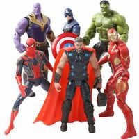 Marvel The Avenger 16 centímetros Super Herói Capitão América Wolverine Thor Homem Aranha Homem De Ferro Action Figure PVC toy dolls