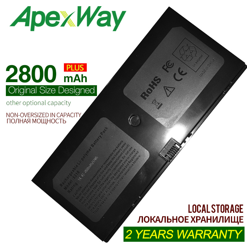 ApexWay 14.8V 2200mAh AT907AA Laptop Battery For HP AT907AA#ABA BQ352AA FL04 FL04041 HSTNN-C72C HSTNN-DB0H For ProBook 5310m