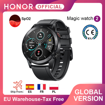 In Stock Global Version Honor Magic Watch 2 Smart Watch Bluetooth 5.1 Smartwatch Blood Oxygen 14 Days Waterproof MagicWatch 2 1