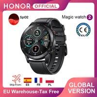 In Stock Global Version Honor Magic Watch 2 Smart Watch Bluetooth 5.1 Smartwatch Blood Oxygen 14 Days Waterproof MagicWatch 2