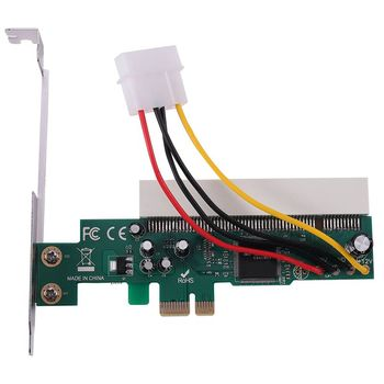 PCI-Express To PCI Adapter Card PCI-E X1/X4/X8/X16 Slot With 4 Pin Power Cable Card