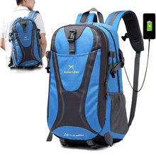 New USB Charging Men Women Travel Backpack Waterproof Outdoor 15 inch Laptop Backpacks Teenager School Bag Male Sports Bag kingsons 2018 new backpack upgraded solar backpack fast usb charging kanpsack 15 6 inches laptop backpacks male women travel bag