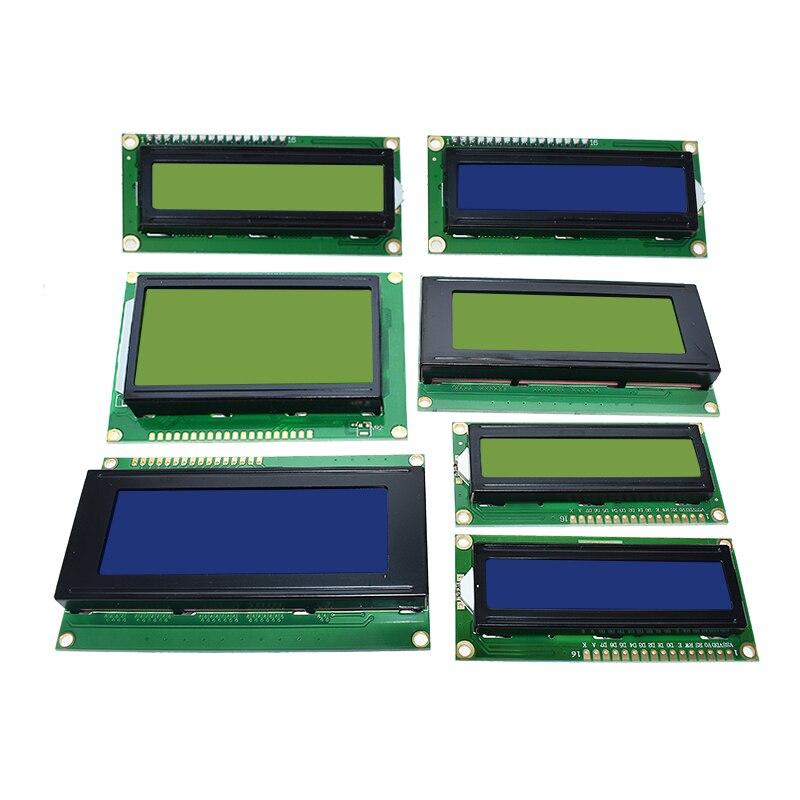 LCD 1602 LCD 1602 2004 12864 Модуль синий зеленый экран 16x2 20X4 символ ЖК-дисплей модуль HD44780 контроллер синий черный светильник