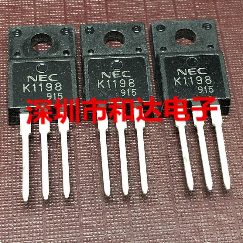 10pcs K1198 2SK1198 TO-220F 700V 2A