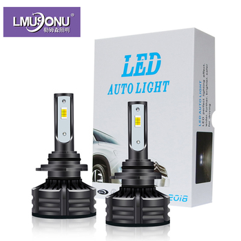Lmusonu Canbus T6 Led Headlights For Car Auto Three Colors White Yellow Top Quality 10000LM