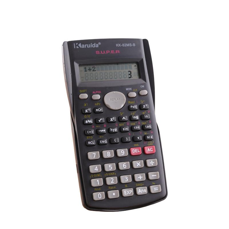 240 Function Scientific Calculator School Student Exams Office Education Tools