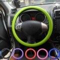 Автомобильный чехол на руль мягкий силиконовый нескользящий чехол на руль автомобильные аксессуары автомобильный чехол стильный