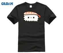 Cute prawn sushi T-Shirt(China)