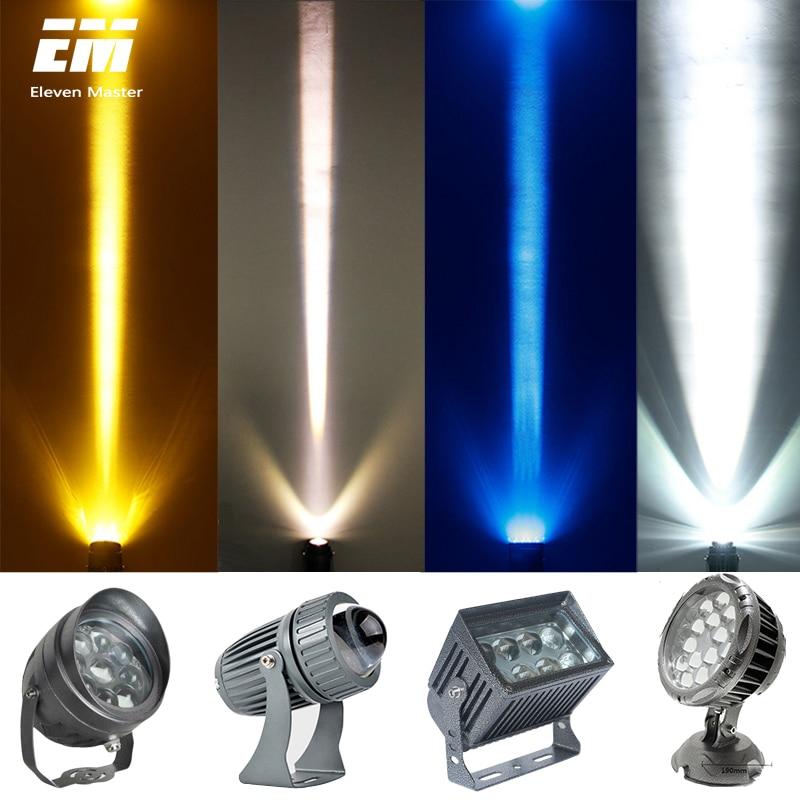 220V 110V RGB LED FloodLight Beam Of Light 10W-48W Reflector Flood Light Waterproof IP65 Spotlight Wall Outdoor Lighting ZFG0005
