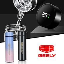 Auto Accessories 500ML Outdoor Travel Portable Leakproof For GEELY emgrand ec7 ec8 ck atlas ck2 ck3 gt gc9 accessories