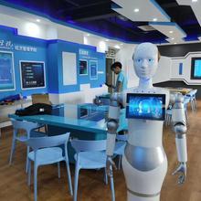 Студенты университета программы проектом вещи робот-гуманоид распознавания лица приема робот голосовой модуль гид-робот