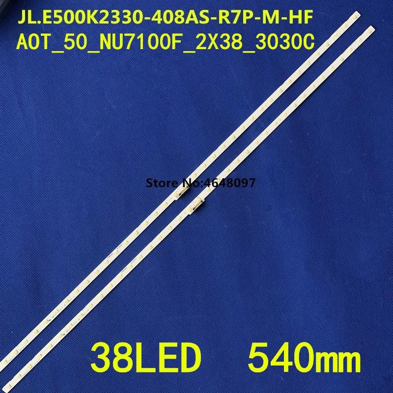 Retroiluminação LED tira BN96-45952A 45962A 46034A bn61-15484a para Samsung UE50NU7100 UN50NU6900 UN50NU7100 UE50NU7400 UN50NU7400