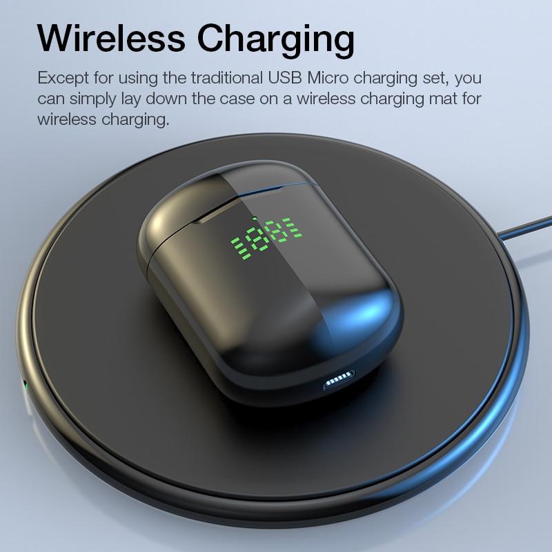 KUSDO TWS kabellose Kopfhörer LED HiFi-Stereo-Ohrhörer - Tragbares Audio und Video - Foto 4