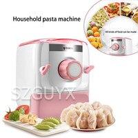 220 v/150 w pequeno e versátil macarronetes máquina de pele bolinho automático inteligente amassar máquina de macarrão elétrica casa