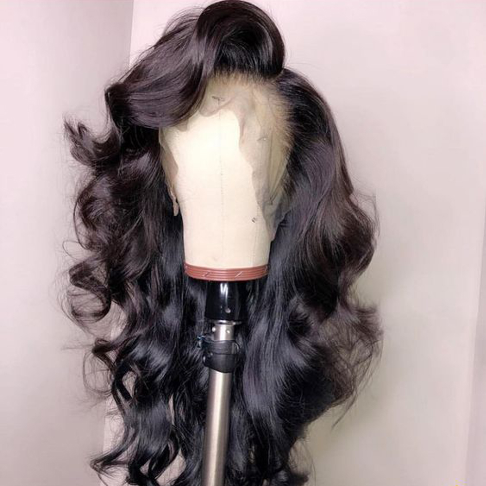 Lace Front  Wig Pre Plucked With Baby Hair  Body Wave Wig 360 Lace  Wigs  4