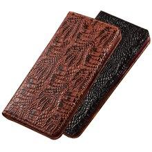 جراب هاتف خلوي من الجلد الطبيعي مع حامل بطاقات لـ Xiaomi Mi MAX 3 و Xiaomi Mi MAX 2