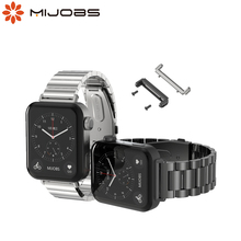 For Xiaomi Mi Watch Strap With Connector Leather Band Bracelet Wristband Perfect Match Free Linker Metal Replacement Accessories