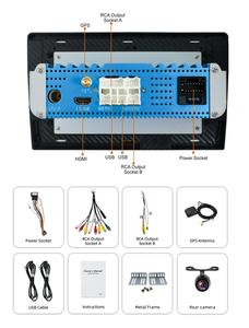 Image 3 - بوسيون 1 Din 9 PX6 Universal أندرويد 10.0 4GB + 64GB IPS راديو السيارة ستيريو لتحديد المواقع والملاحة واي فاي 1024*600 مع IPS DSP كاميرا مجانية