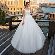 Elegant Ball Gown Princess Wedding Dress 2021 For Bride Sleeveless Sweep Train With Button White Bridal Gowns свадебное платье