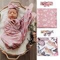 Baby decke neugeborenen baumwolle floral decke swaddle decke super weiche kleinkind bettwäsche bettdecke sofa korb kinderwagen decken