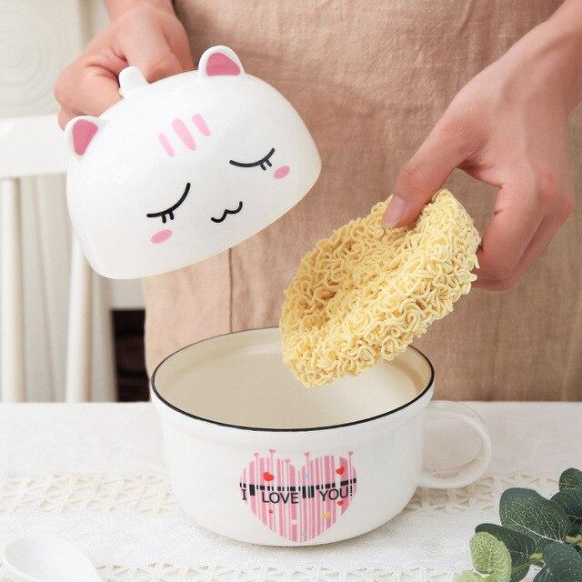 Cat Instant Noodle Bowl  3