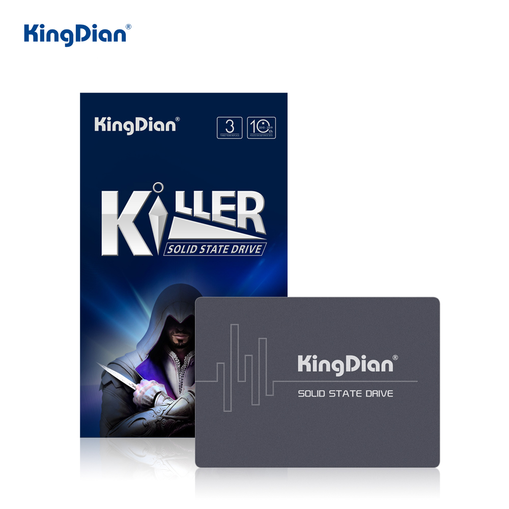 KingDian SSD 1TB 480GB SSD 2.5'' SATA SATAIII SSD 2TB 512GB HDD Hard Disk Internal Solid State Drive For Laptop Desktop PC