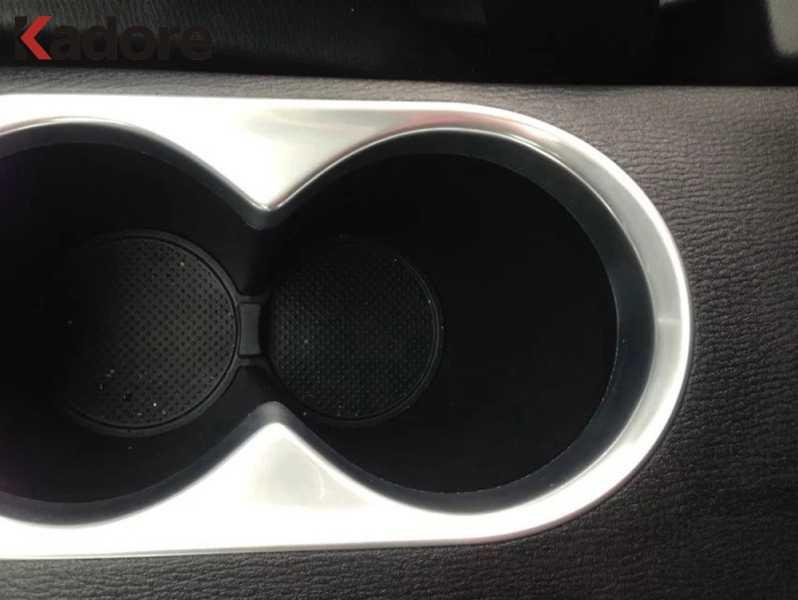 لمازدا CX-5 CX5 2012 2013 2014 2015 ABS ماتي كأس الماء زجاجة حامل الإطار المنظم سيارة الداخلية الزجاج الجرف اكسسوارات